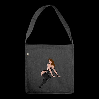 Model - Shoulder Bag made from recycled material