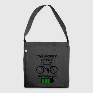 the mobile device - Shoulder Bag made from recycled material