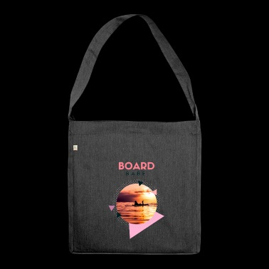 Board Babe - Schultertasche aus Recycling-Material