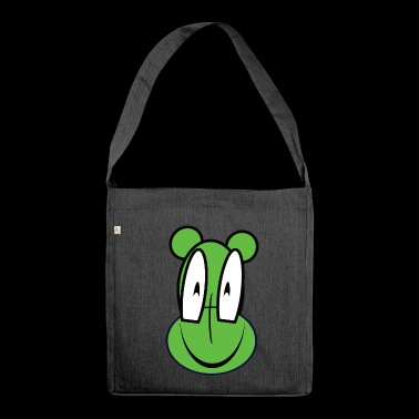 frog - Shoulder Bag made from recycled material