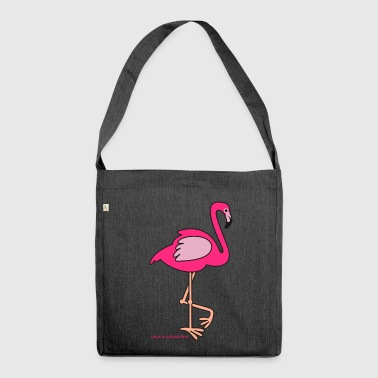 flamingo - Shoulder Bag made from recycled material