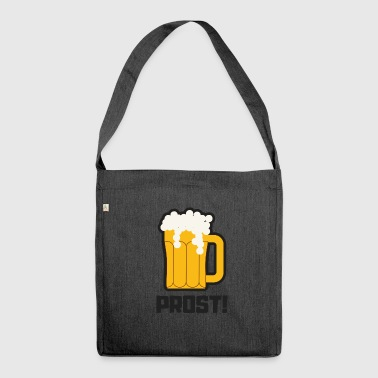 Prost! - Schultertasche aus Recycling-Material