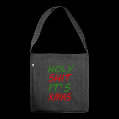 Xmas - Shoulder Bag made from recycled material