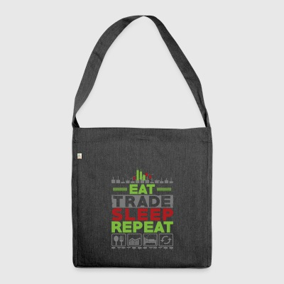 Eat Sleep REPEAT COMMERCIO - Borsa in materiale riciclato