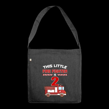 THIS LITTLE FIRE FIGHTER IS 2 - Shoulder Bag made from recycled material