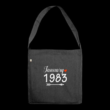 January 1983 - Shoulder Bag made from recycled material