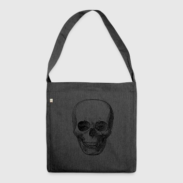 thick skull - Shoulder Bag made from recycled material
