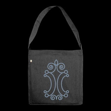 SILBER style - Schultertasche aus Recycling-Material