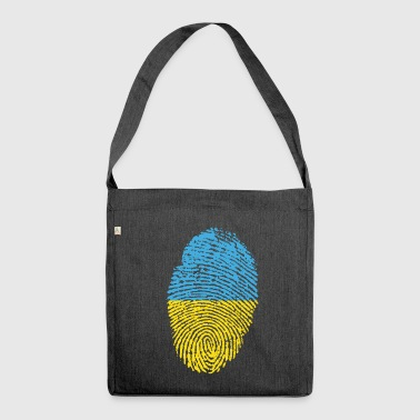 UKRAINE / FINGERABPRESSION - Shoulder Bag made from recycled material