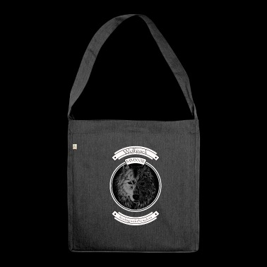 Wolfpack - Schultertasche aus Recycling-Material