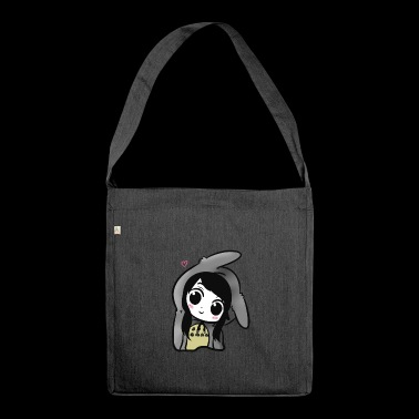 niedlich chibi - Schultertasche aus Recycling-Material