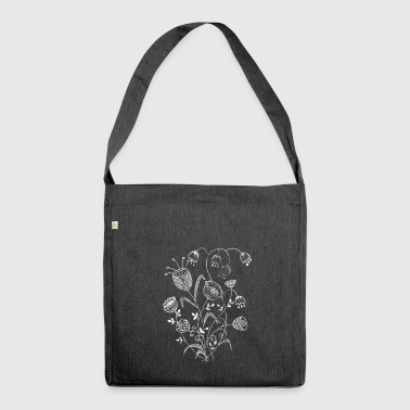 beautiful flowers for mother s day - Schultertasche aus Recycling-Material