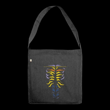 alien fossil - Shoulder Bag made from recycled material