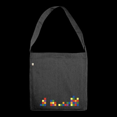 cube 1 - Schultertasche aus Recycling-Material