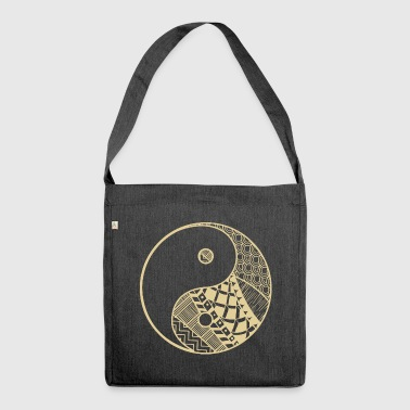 Ying Yang - Shoulder Bag made from recycled material