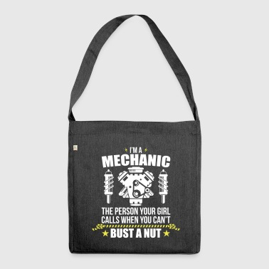 Funny Mechanic - funny mechanic - Shoulder Bag made from recycled material