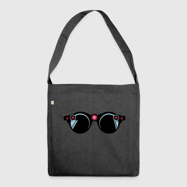 round sunglasses star 401 - Shoulder Bag made from recycled material
