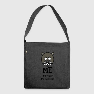 Good morning Brummbär - ME AT THE MORNING - Shoulder Bag made from recycled material