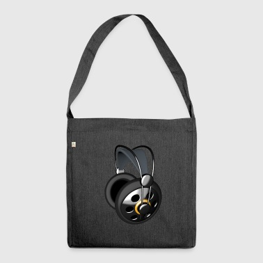 Audio headphones - Shoulder Bag made from recycled material