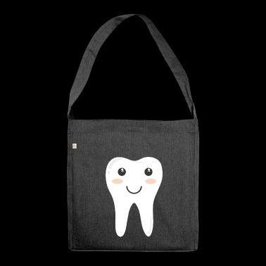 tooth - Shoulder Bag made from recycled material