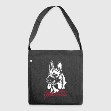 Belgian Malinois - Shoulder Bag made from recycled material