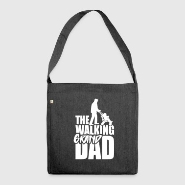 The walking (grand) dad - grandad 1 clr - Shoulder Bag made from recycled material