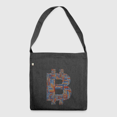 Bitcoin 12 - Shoulder Bag made from recycled material