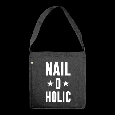 Nail o Holic - Nail Artist - Nail Designers - Nails - Shoulder Bag made from recycled material