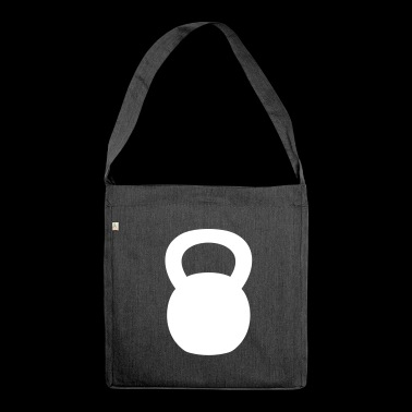 Kettlebell - Shoulder Bag made from recycled material