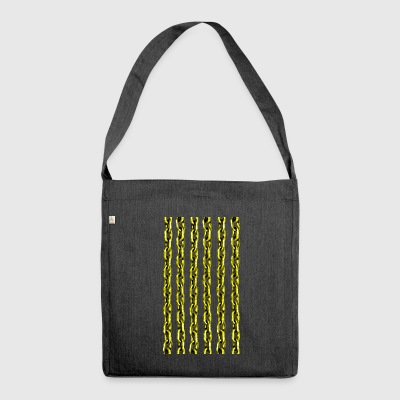 Golden Chain - Shoulder Bag made from recycled material