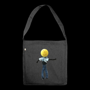 Felix figure - Shoulder Bag made from recycled material