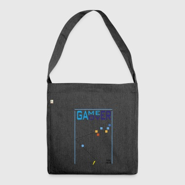 game over - Shoulder Bag made from recycled material