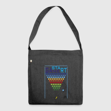 start game - Shoulder Bag made from recycled material