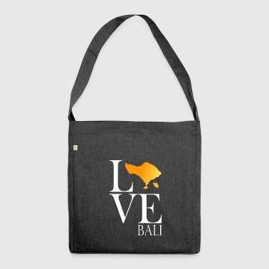 Love Bali - Shoulder Bag made from recycled material
