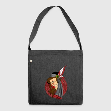 chicano girl - Shoulder Bag made from recycled material