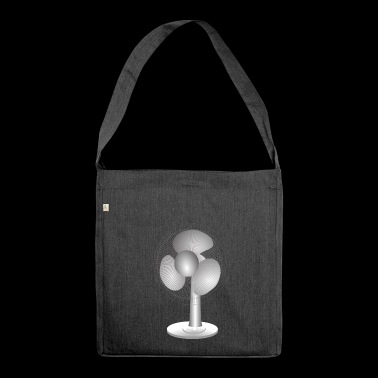 fan - Shoulder Bag made from recycled material