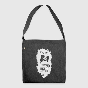 But a beard - beard - Shoulder Bag made from recycled material