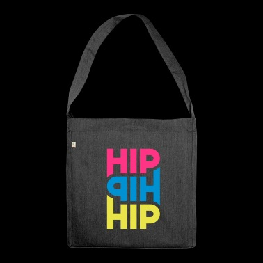 Hip Hip Hip - Customizable - Shoulder Bag made from recycled material