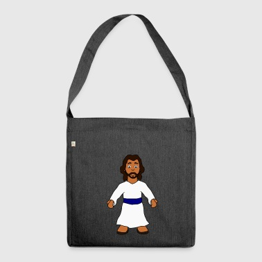 What would Jesus do? - Schultertasche aus Recycling-Material