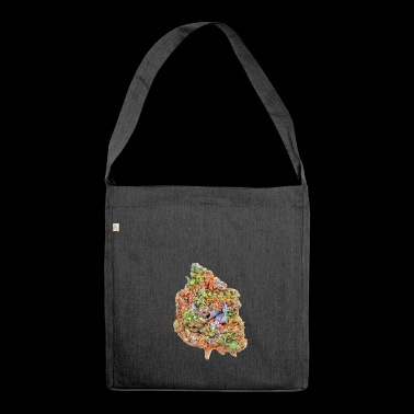 Marihuana Bud - Schultertasche aus Recycling-Material