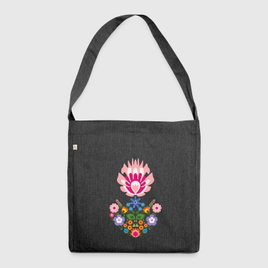 floral - Shoulder Bag made from recycled material