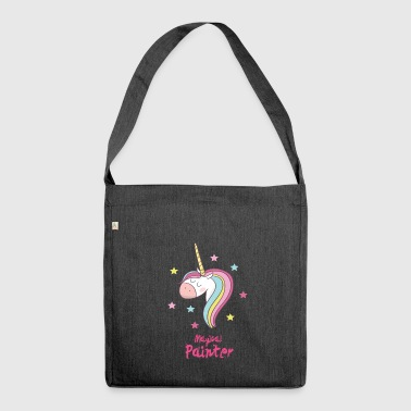 Magical Painter - Schultertasche aus Recycling-Material