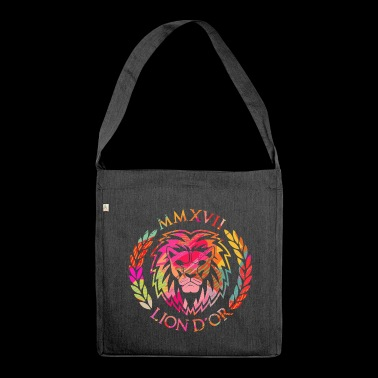 LION D'OR logo - Shoulder Bag made from recycled material