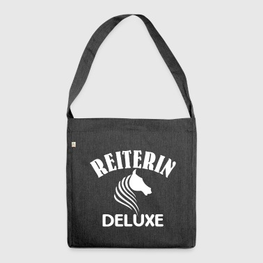 Reiterin Deluxe - Schultertasche aus Recycling-Material