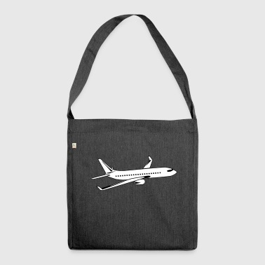 plane - Shoulder Bag made from recycled material