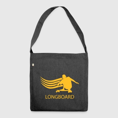 Longboard - Schultertasche aus Recycling-Material