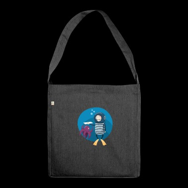 pizza pizzeria food food restaurant28 - Shoulder Bag made from recycled material