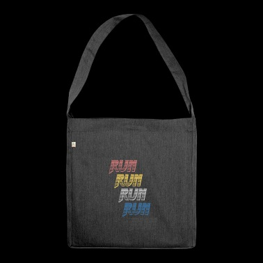 70's Run Chrome! - Borsa in materiale riciclato