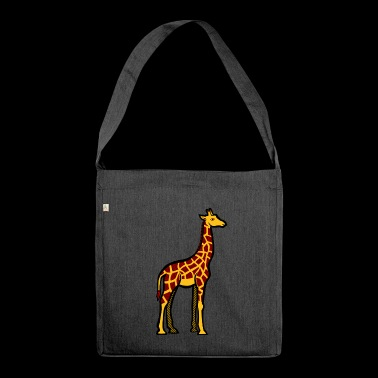 The GIRAFE - Shoulder Bag made from recycled material