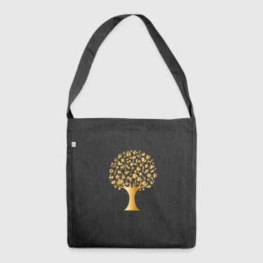 Luxury tree - Shoulder Bag made from recycled material